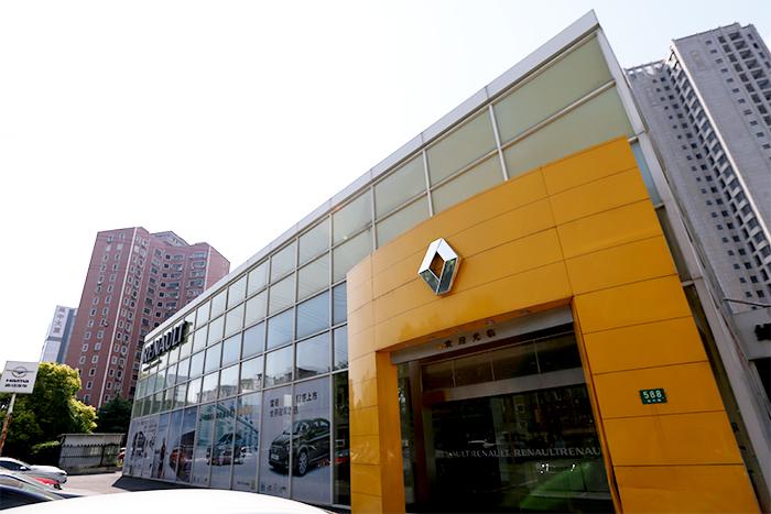 上海瀚龙依诺4S店