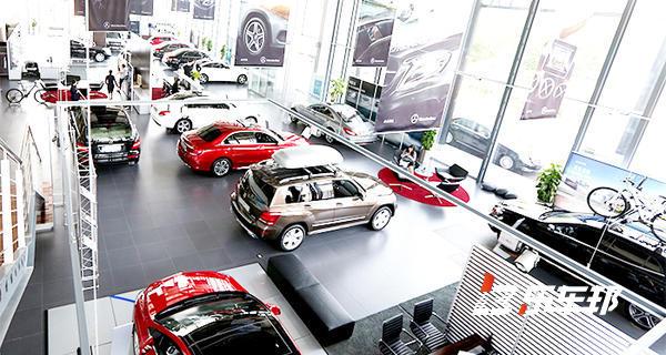上海越星奔驰4S店